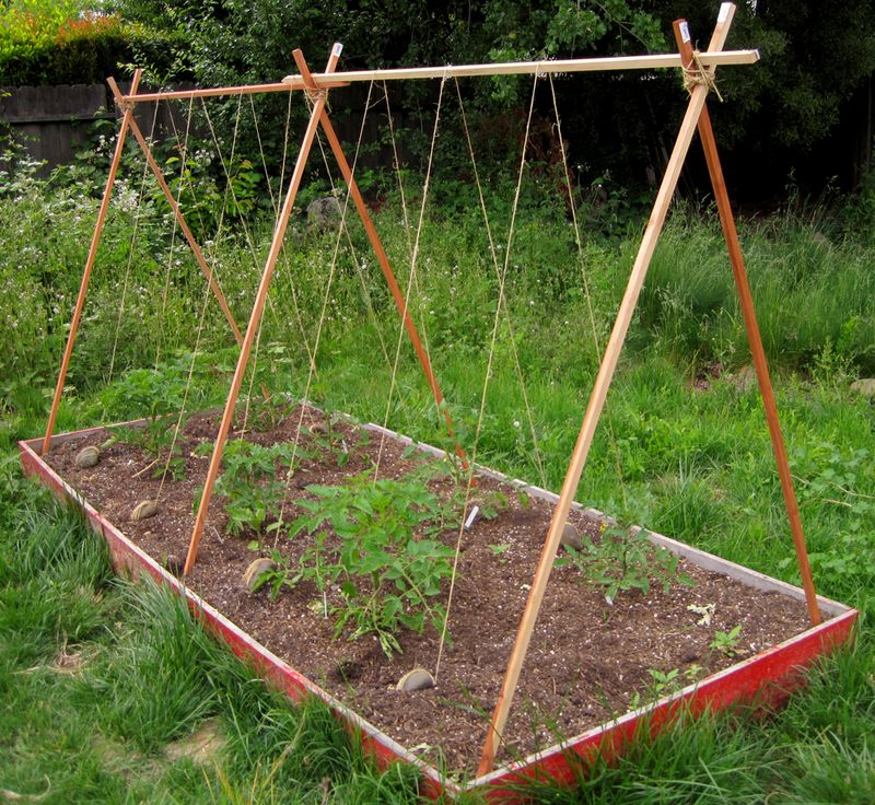 Raised Bed Stakes