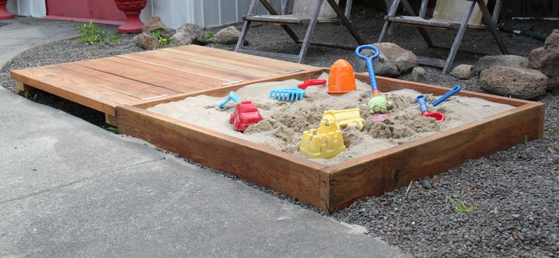 do it yourself sandbox