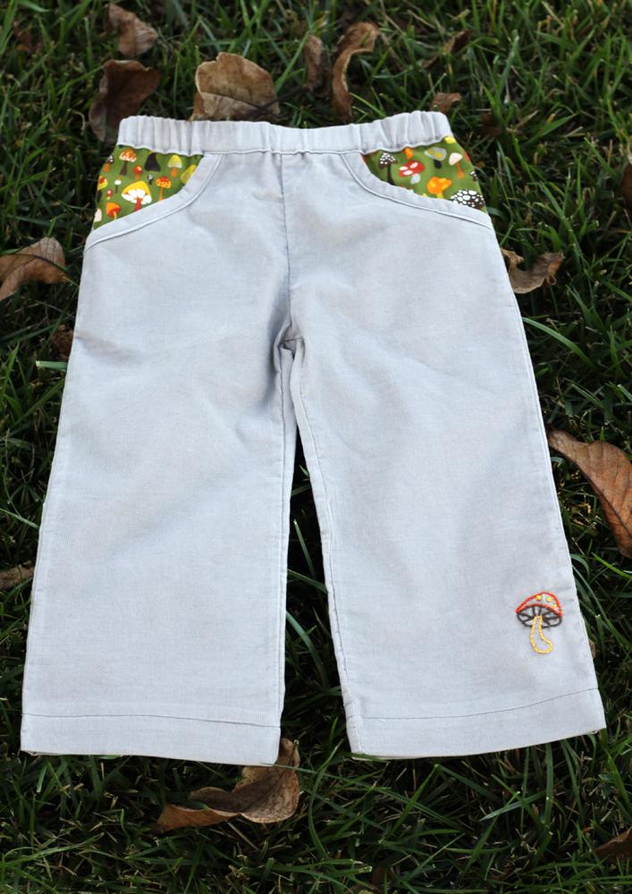 Mushroom pants