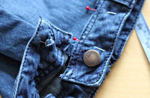 Attach waistband
