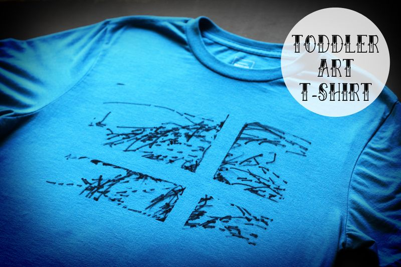 Toddler art t-shirt