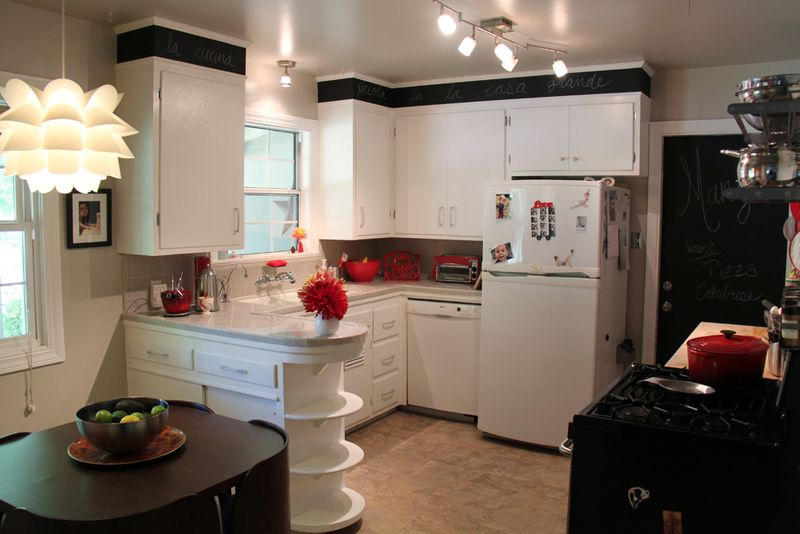 Small functional kitchen