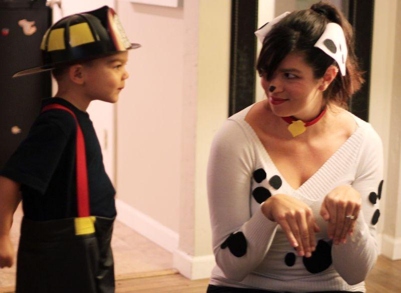 Dalmation costume