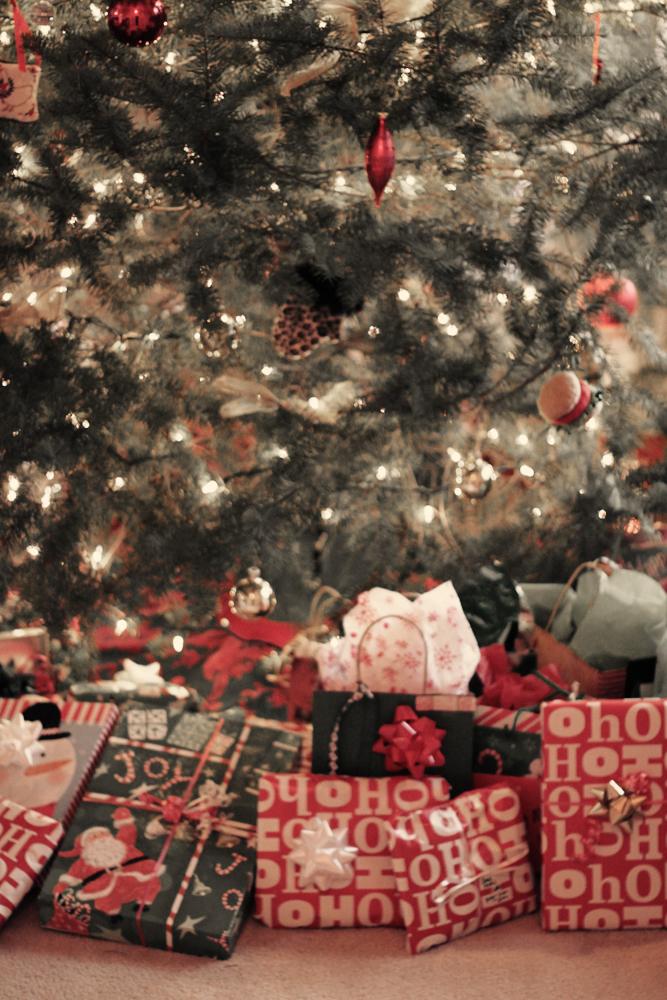Lots of presents