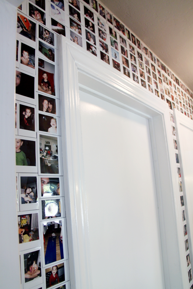 Small Friendly Diy Decor Our Instax Wall
