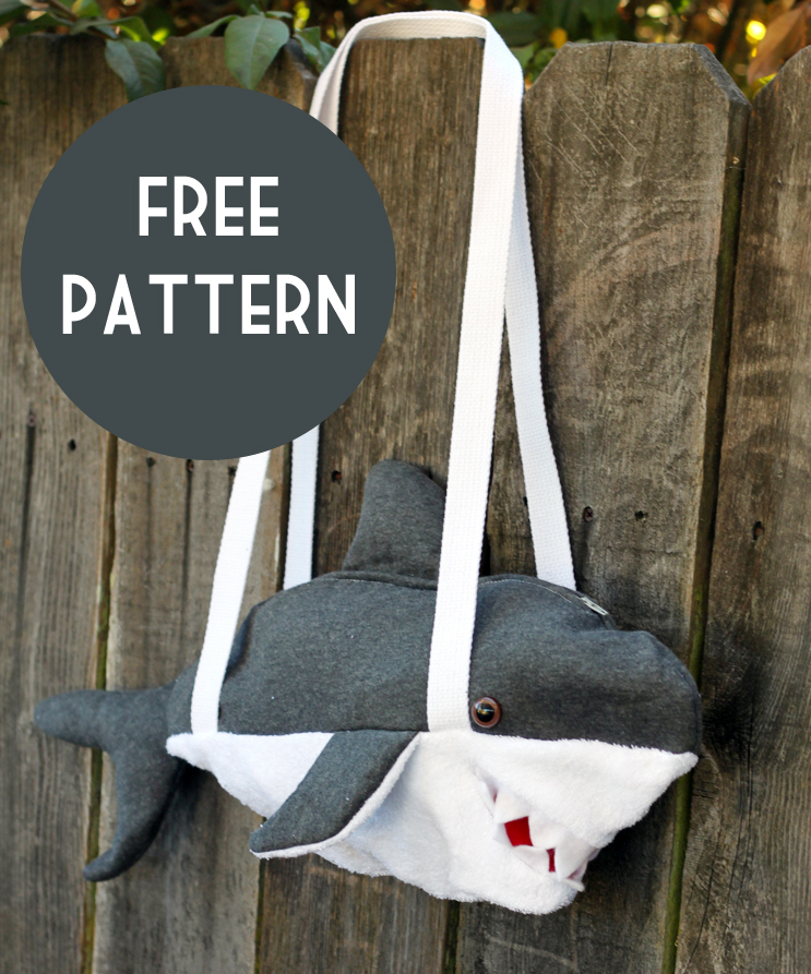 Shark bag pattern