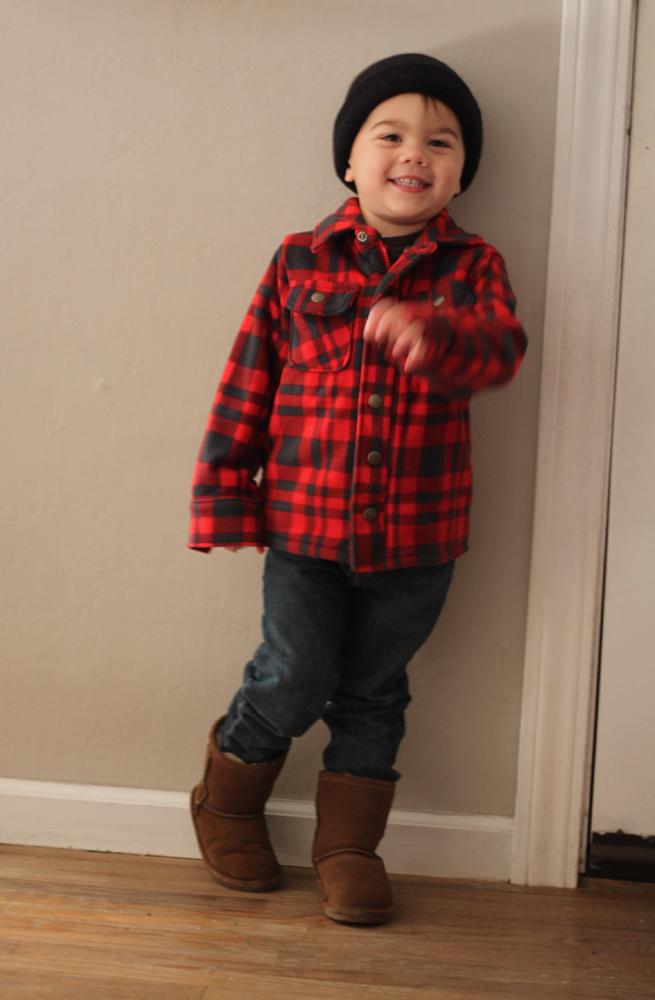 Tiny lumberjack
