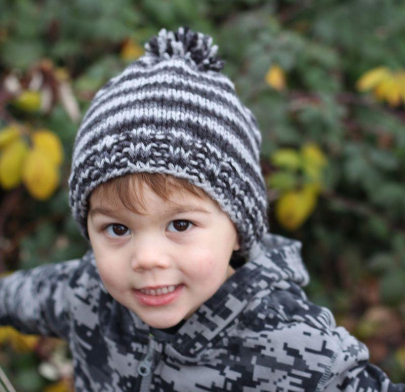 Super simple knit hat