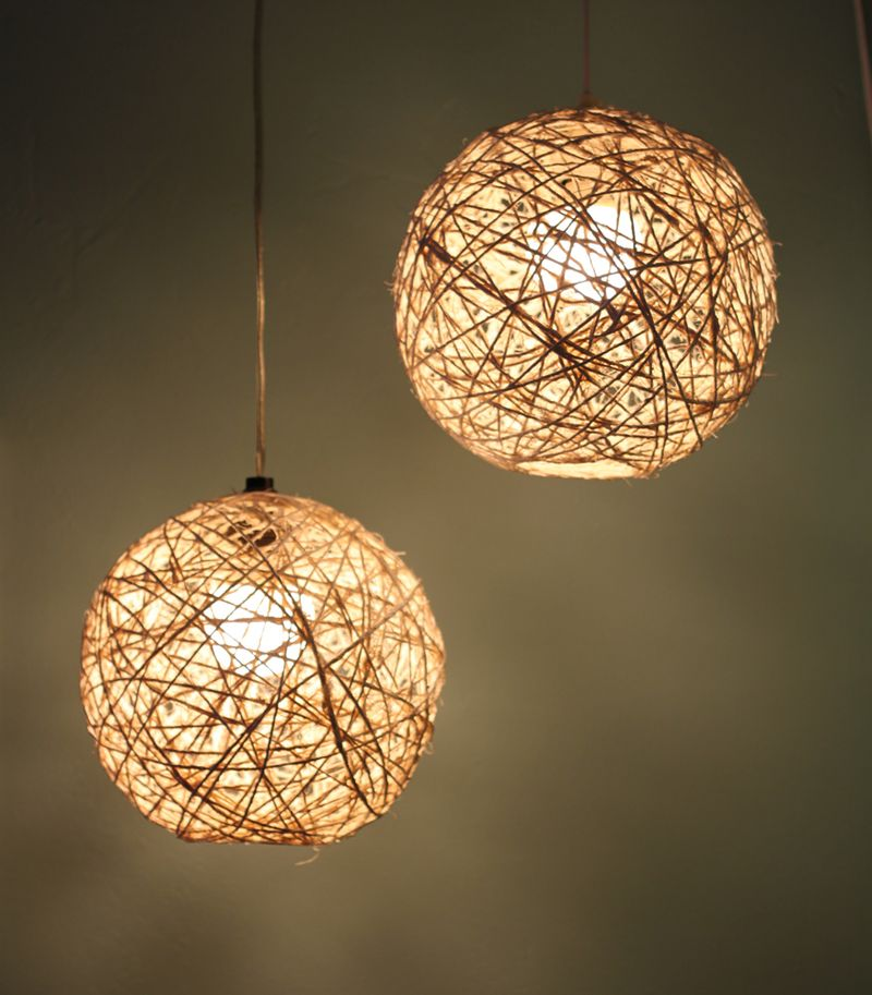 small + friendly: DIY: Nautical Lighting