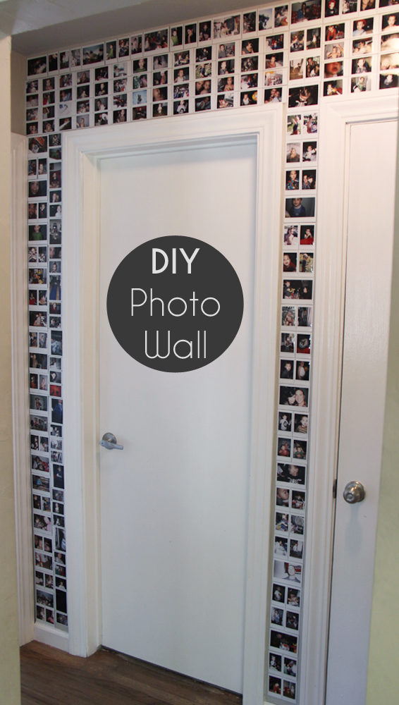 Best DIY photo wall