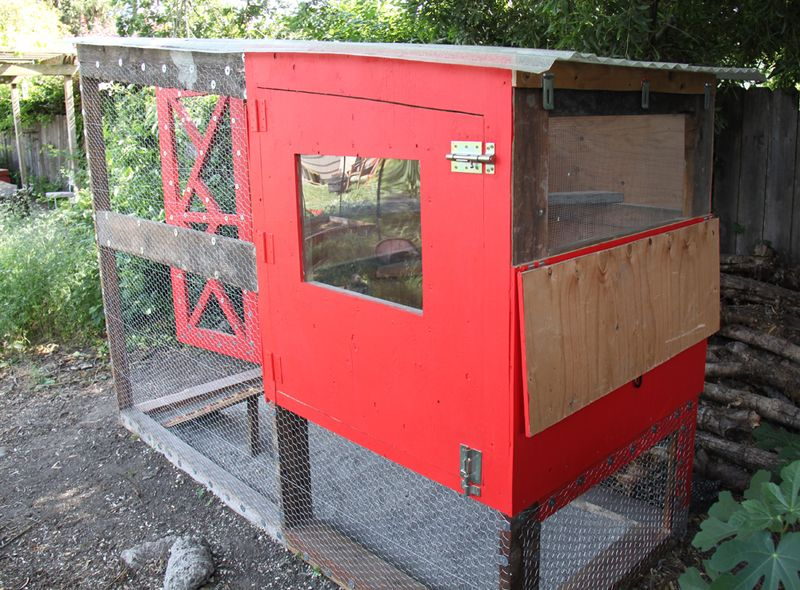 Reclaimed chicken coop