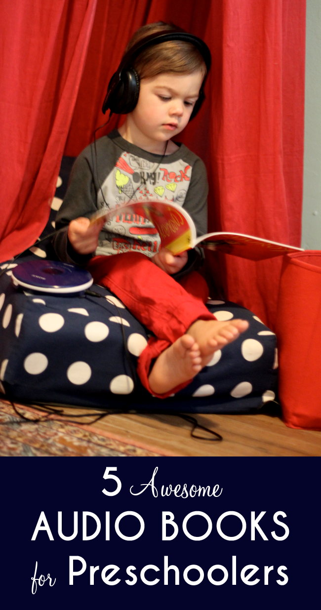 Awesome audio books for preschoolers by small + friendly