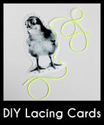 Lacing card icon