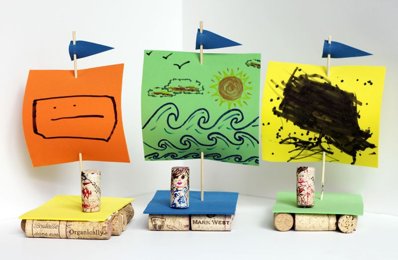 Diy cork boats