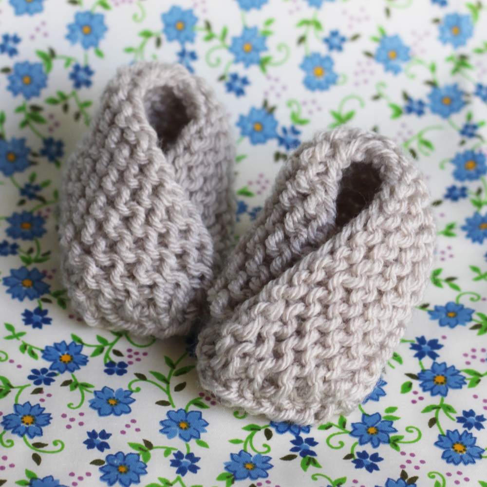 16a93009b75 small + friendly: Knit: Bitty Baby Booties
