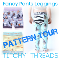Fancy Pants Leggings Pattern Tour Button