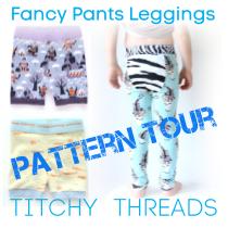 Fancy Pants Leggings Pattern Tour Button