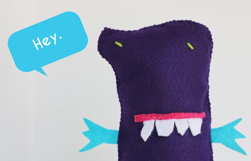 Meet dorky monster