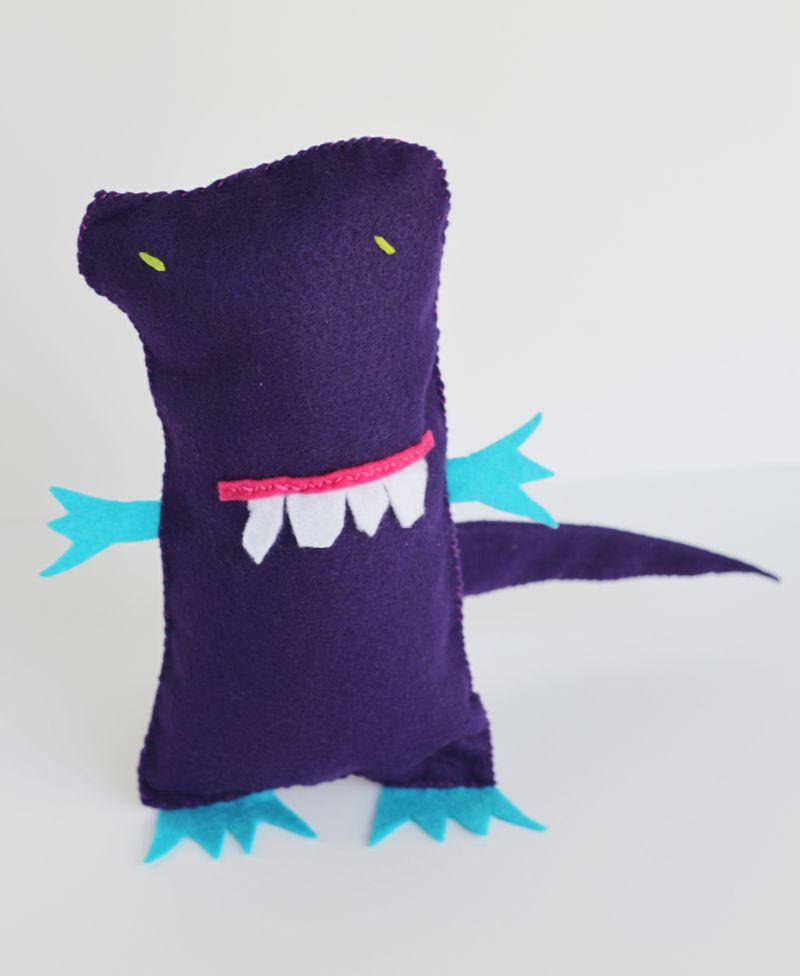 Diy doodle monster
