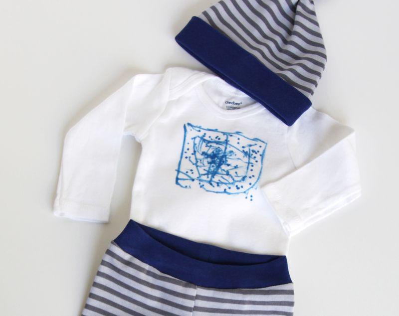 Kid art onesie