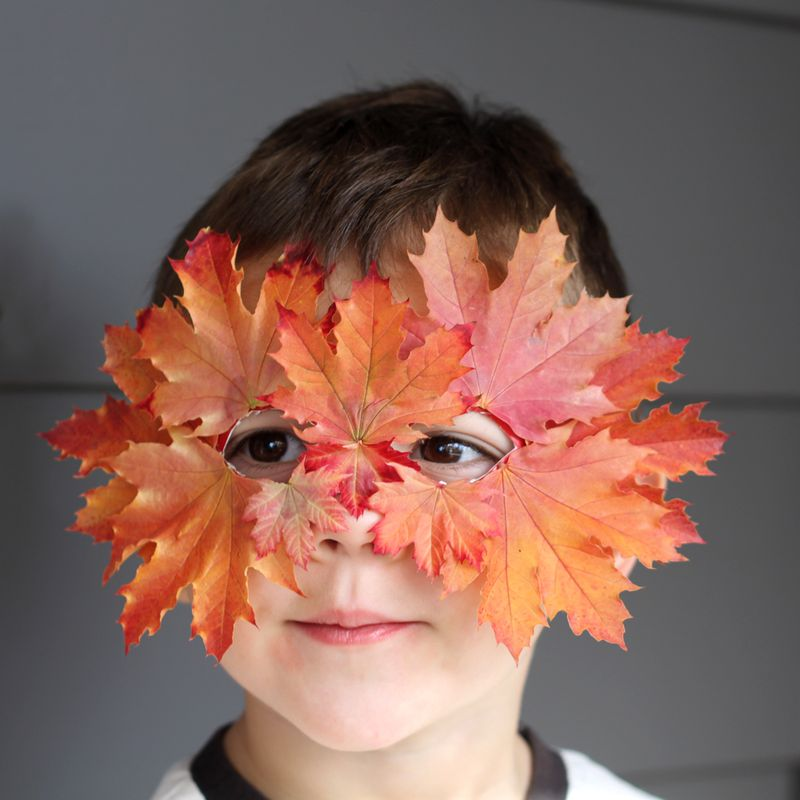 Art: Leaf Mask
