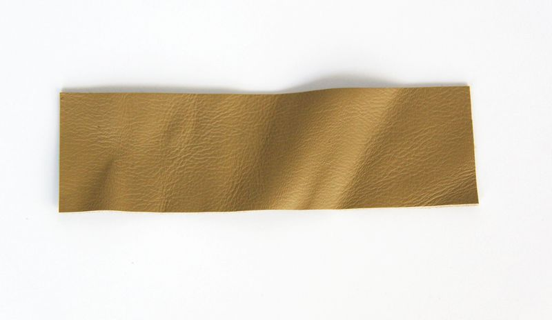 Strip of leather