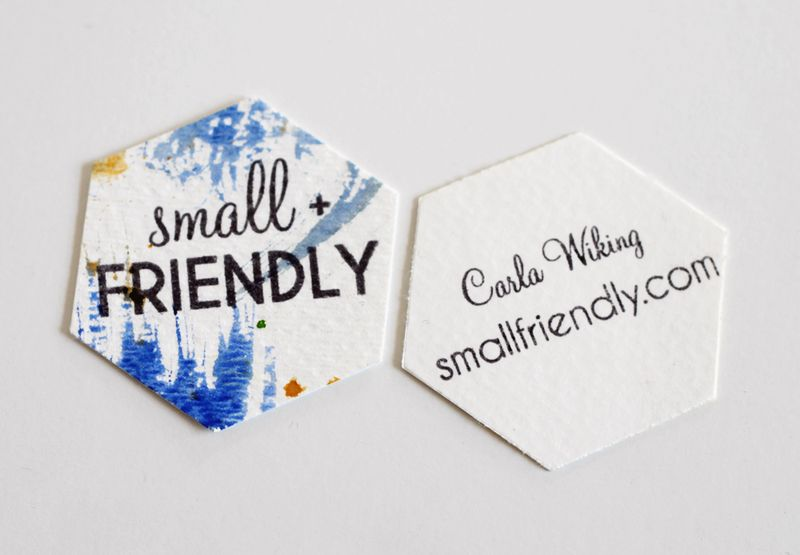 Diy biz cards