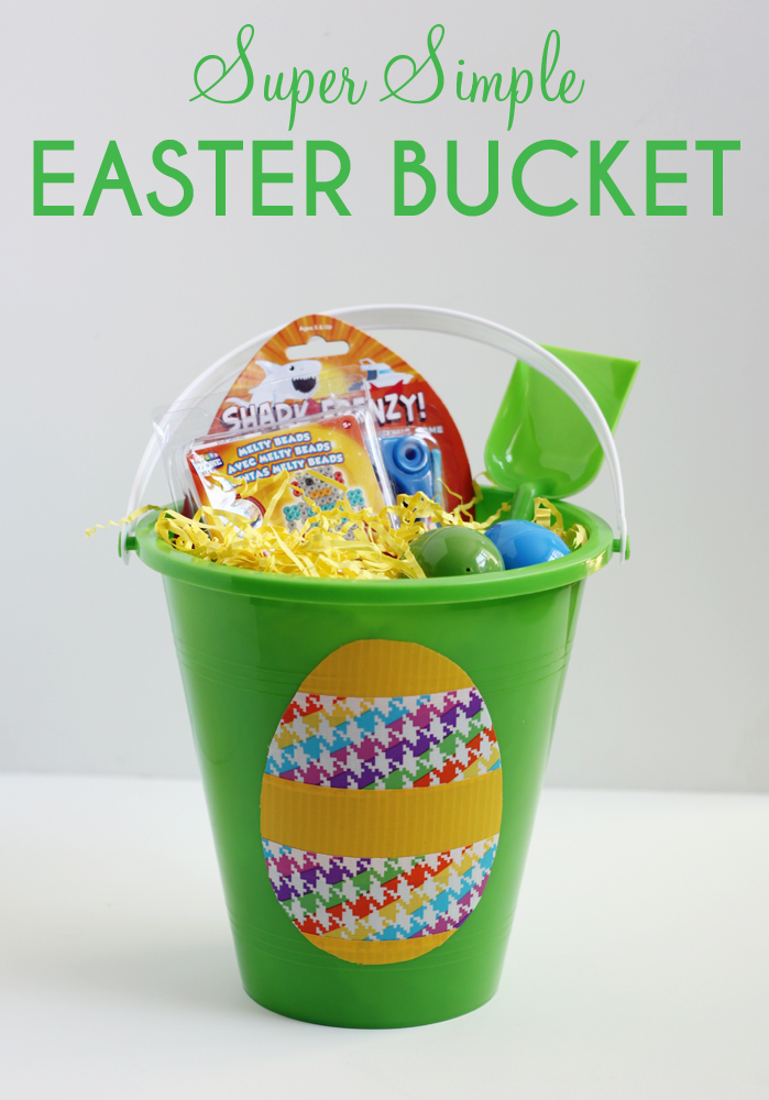Super simple easter bucket