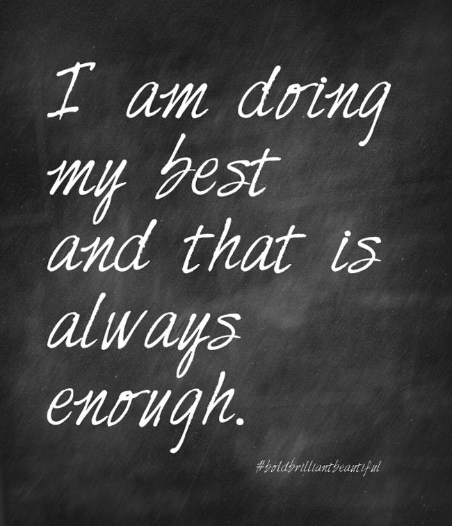 Always-enough