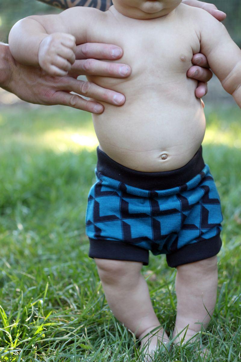 Diy baby shorts