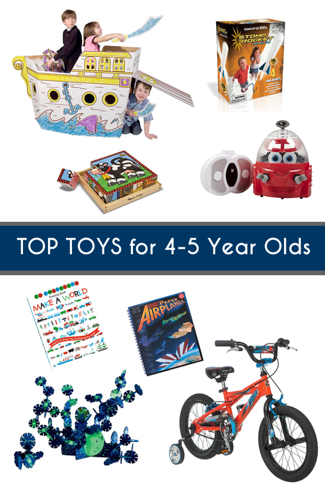 Top toys for 4-5 year olds