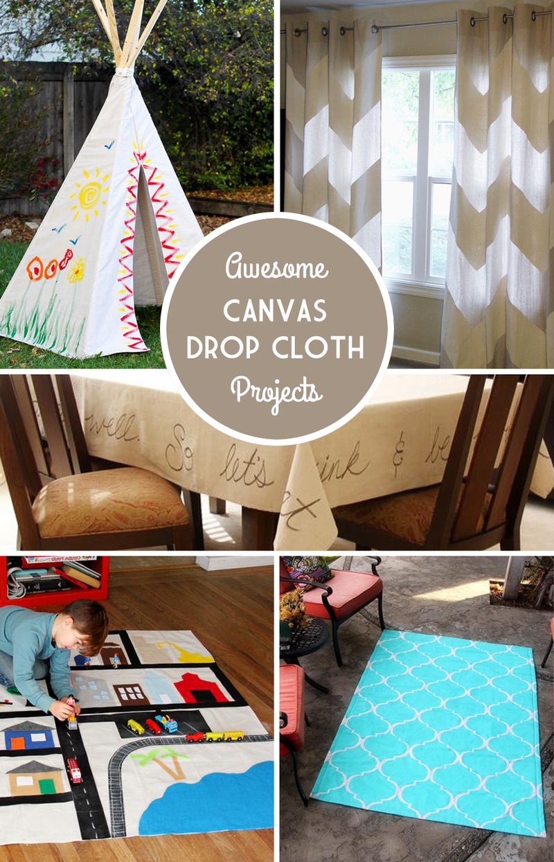 Awesome-drop-cloth-projects