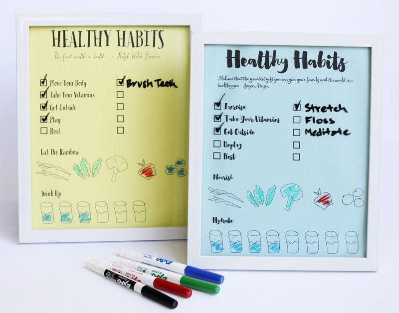 Free printable health charts