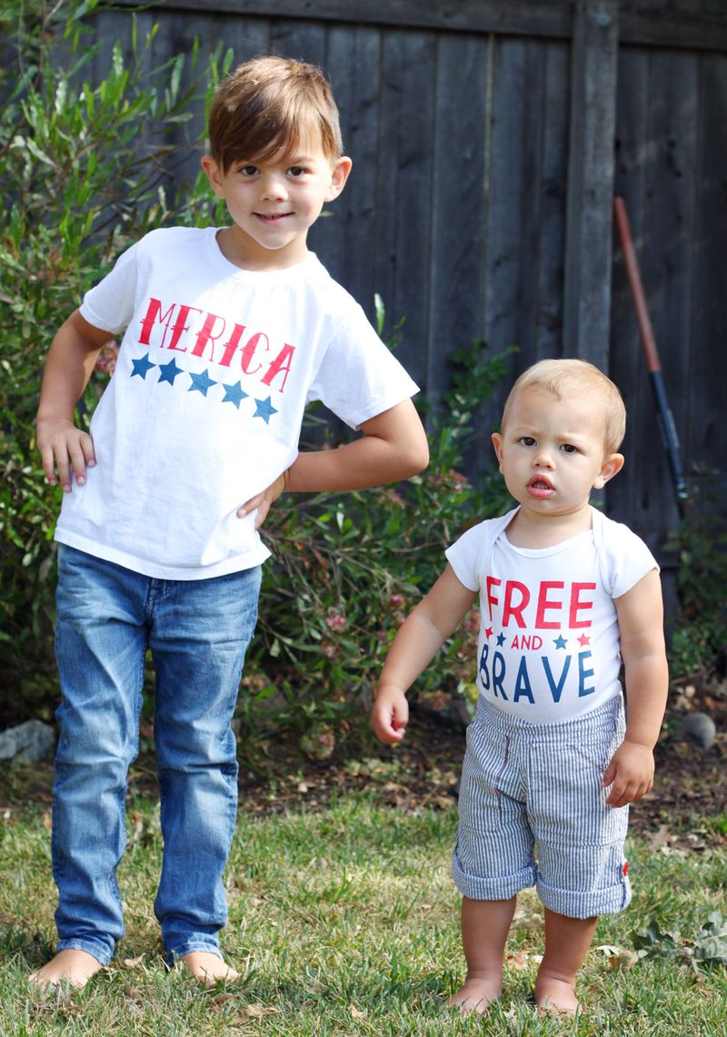 Diy fourth of july shirts