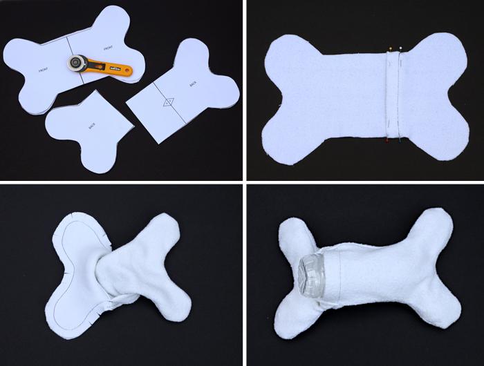 Игрушки щенку своими руками 58