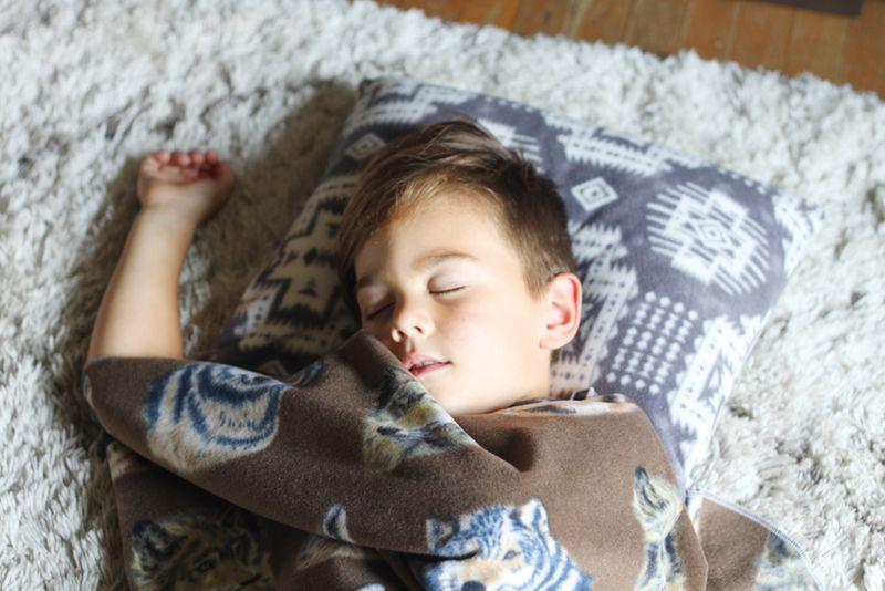 Kindergarten nap roll