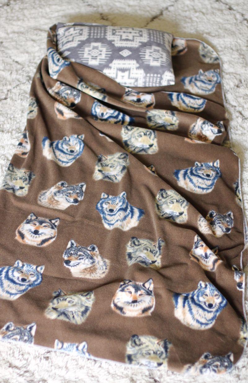 Fleece nap blanket