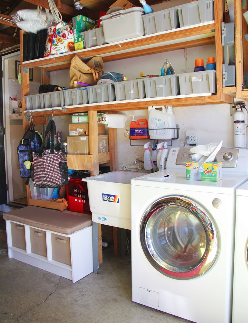 Laundry mudroom