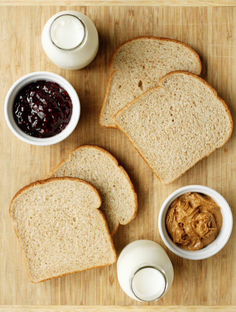 Pb&j ingredients