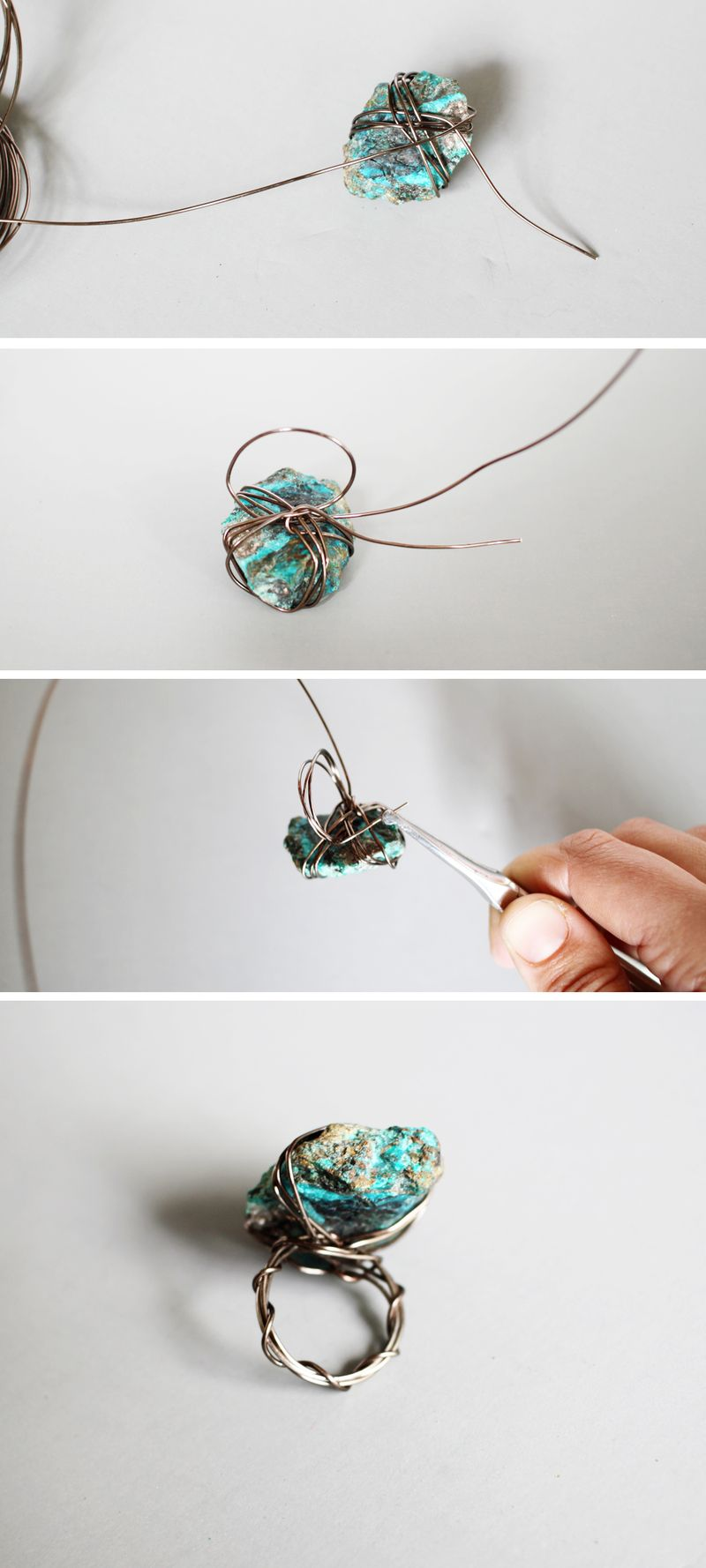 How to make a wire ring