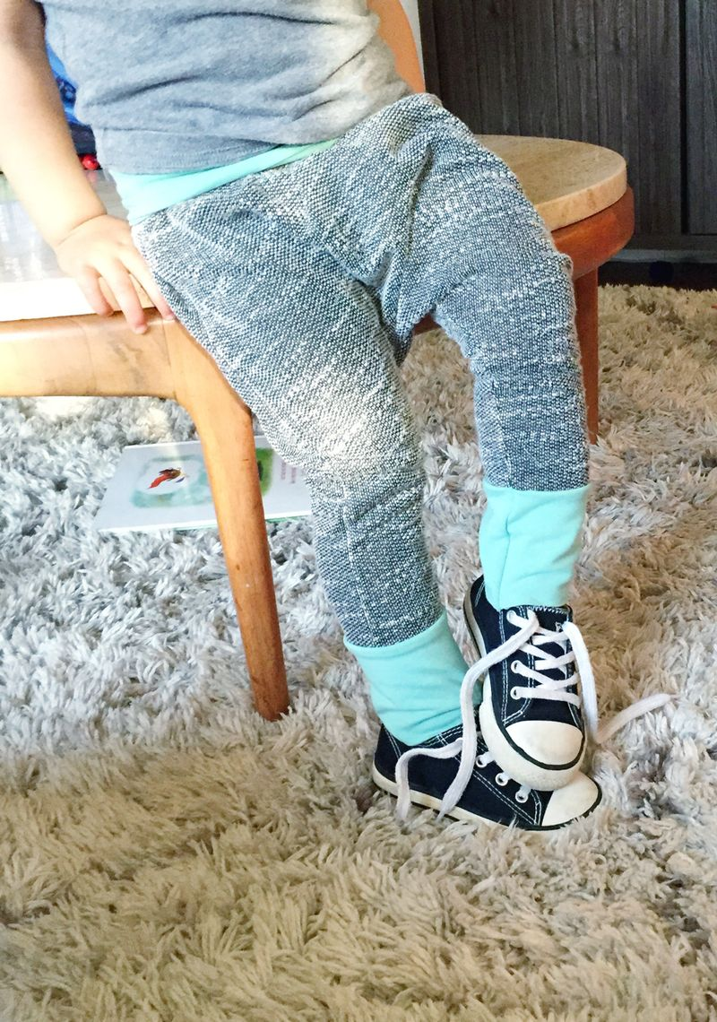 DIY baby pants