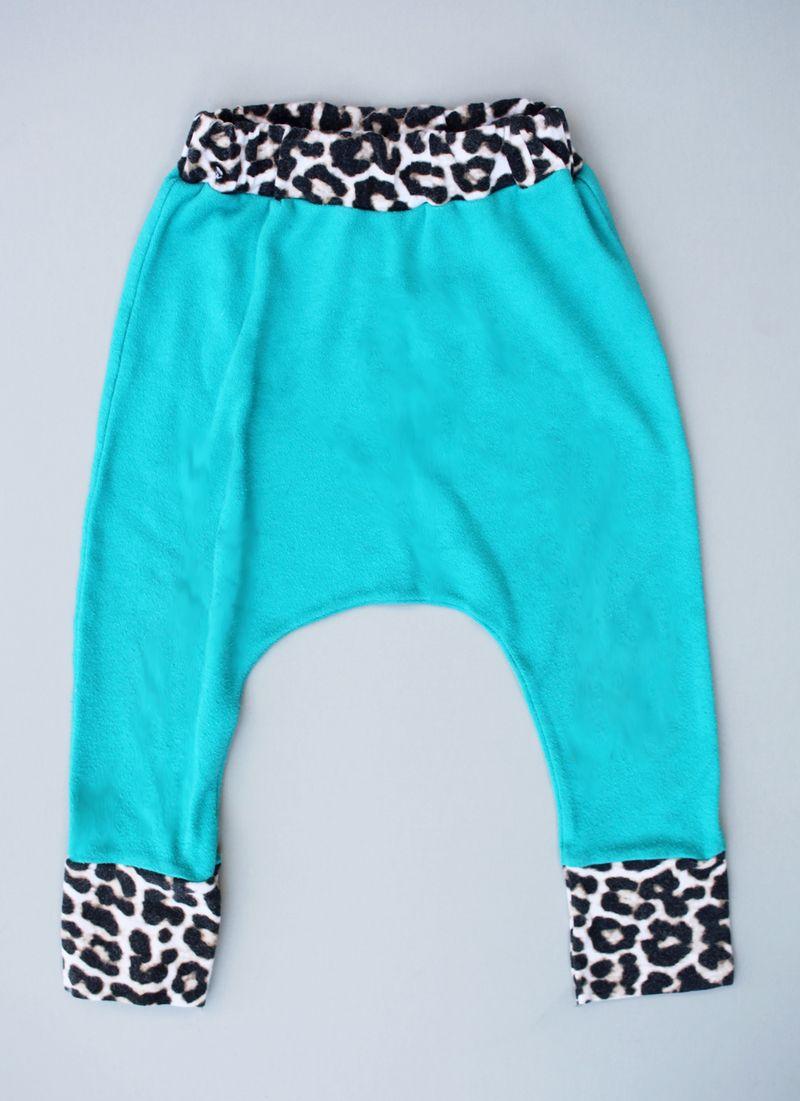 Free pattern baby harem pants