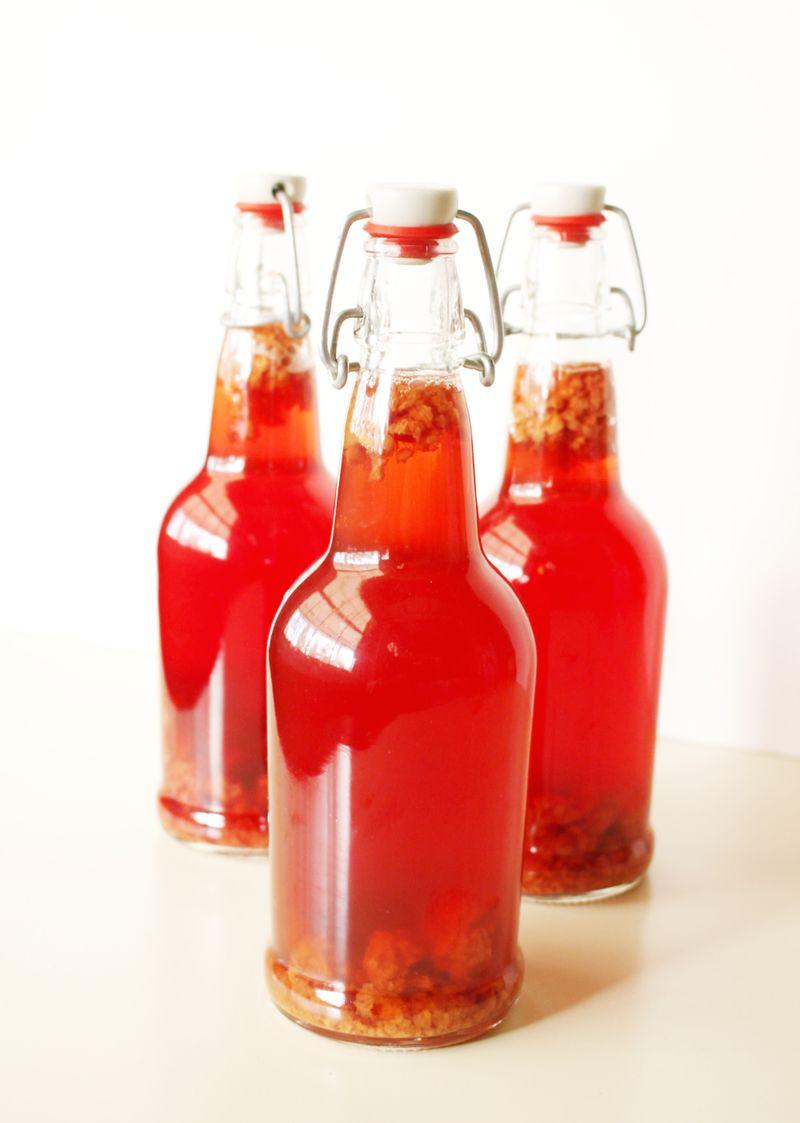 Raspberry kombucha recipe