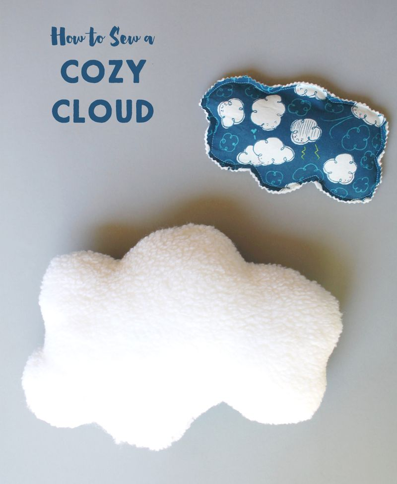 Sew a cozy cloud