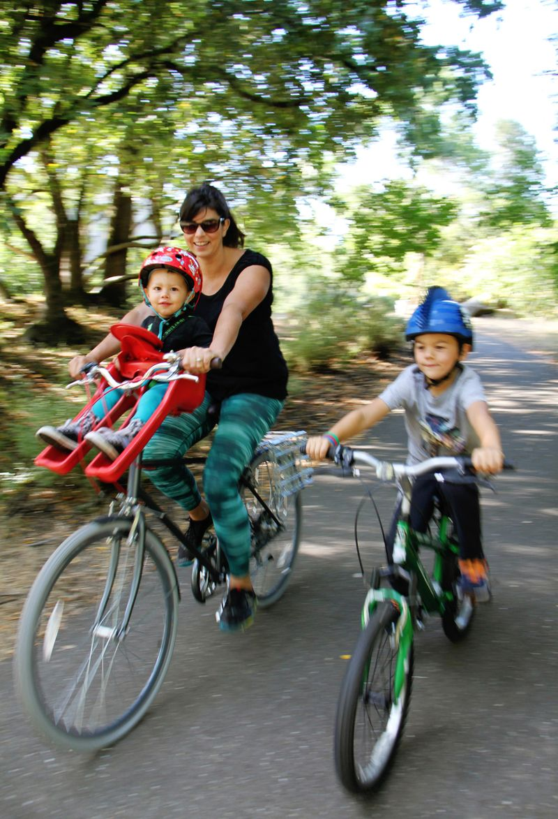 Bike with kids