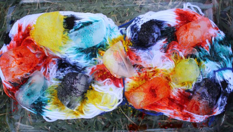 How to dye cotton yarn