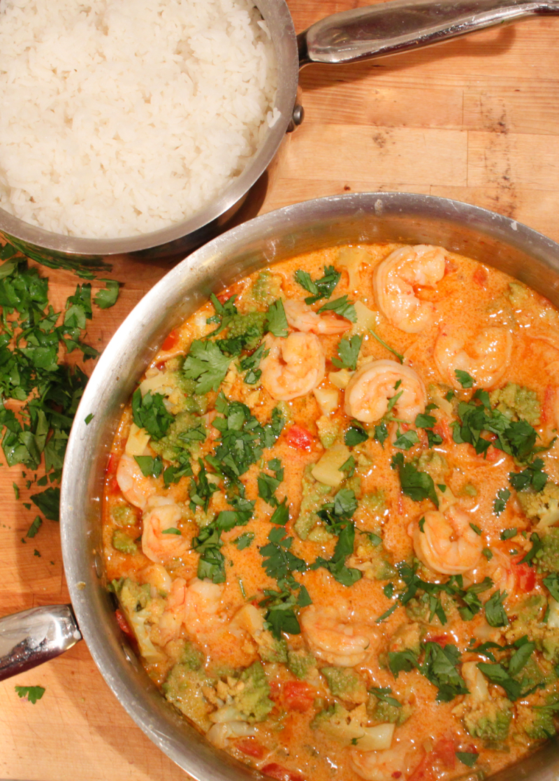 Simple thai shrimp curry recipe_-3