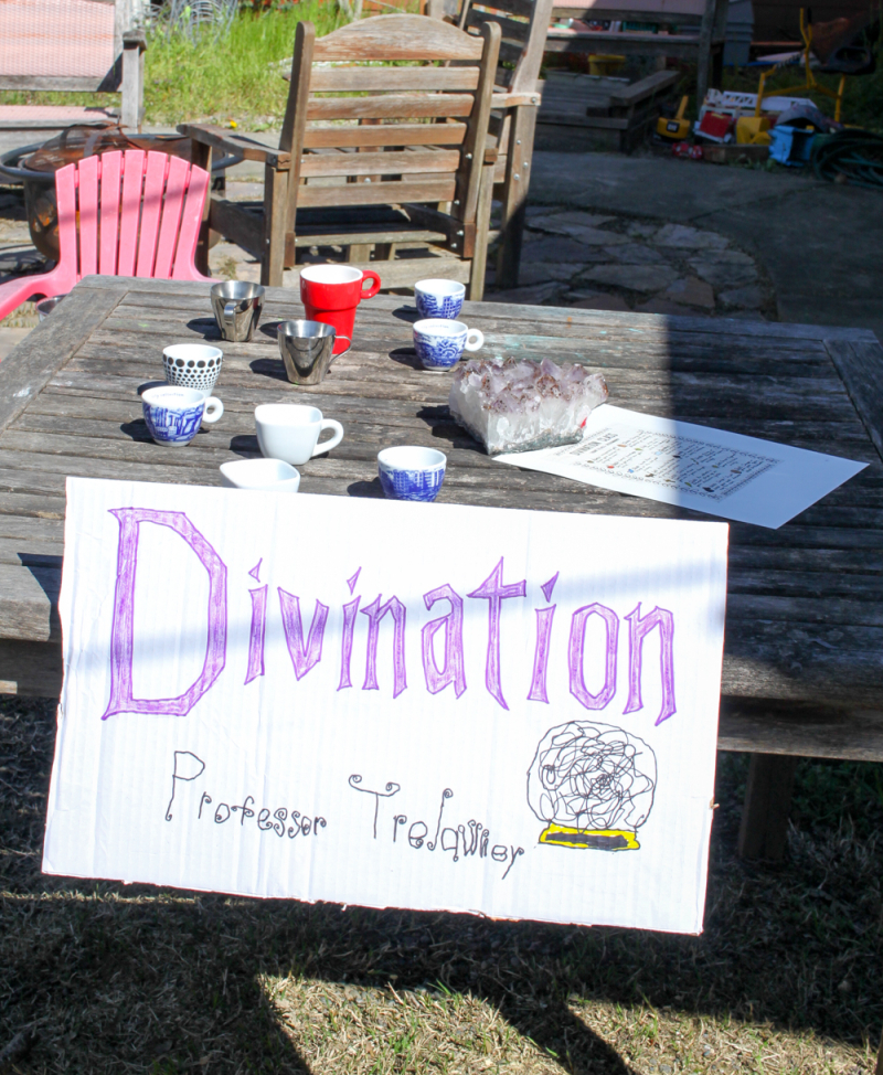 Diy harry potter party-divination