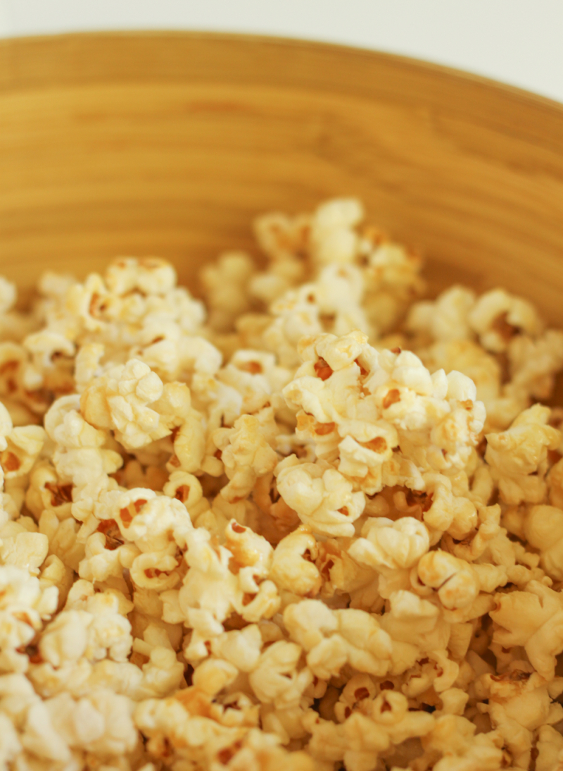 Stovetop kettle corn