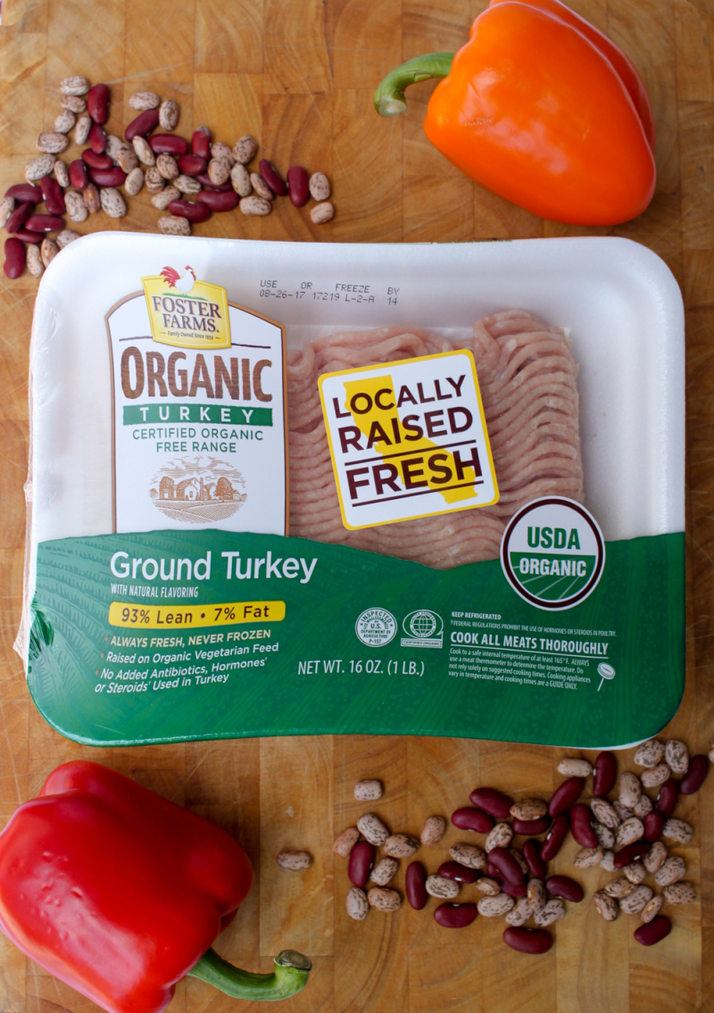 Foster farms-turkey three bean chili